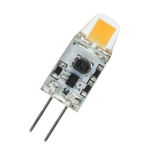 Prolite LED G4 Capsule 1.2W 12V Cool White Clear