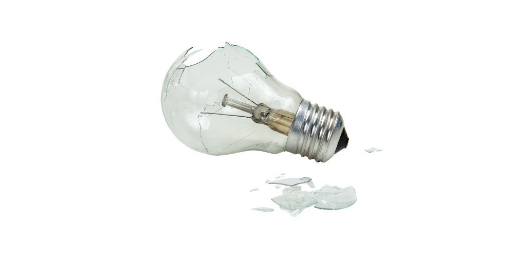 Broken Light Bulb - What Now?