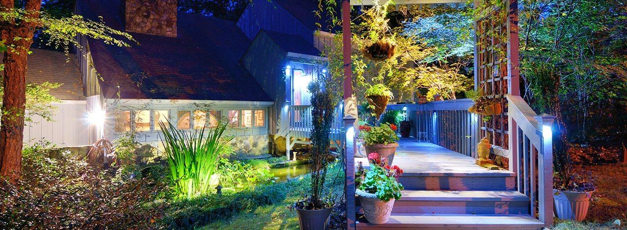 Outdoor Garden and Decking Lighting