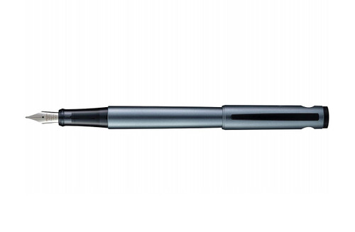 Pilot Explorer Gray Fountain Pen with cap posted