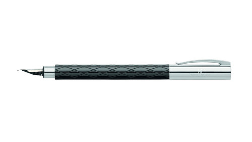 faber-castell-ambition-rhombus-black-fountain-pen