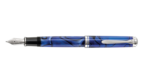 pelikan-souverän-M805-Blue-Dunes-fountain-pen