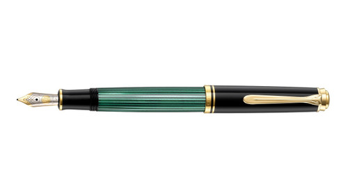 pelikan-souveran-M600-green-black-fountain