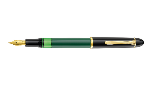 pelikan-m120-green-black-fountain