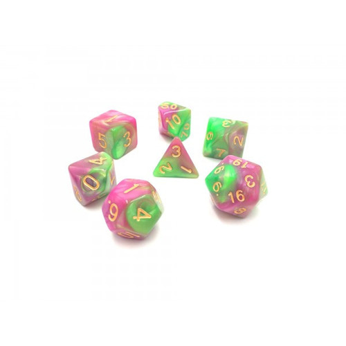 Blend Rose Red/Green Dice