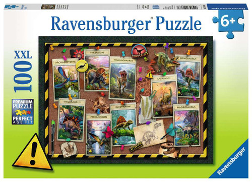 Dinosaur Collection 100pc Puzzl