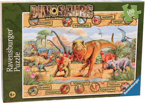 Dinosaurs 100pc Puzzle