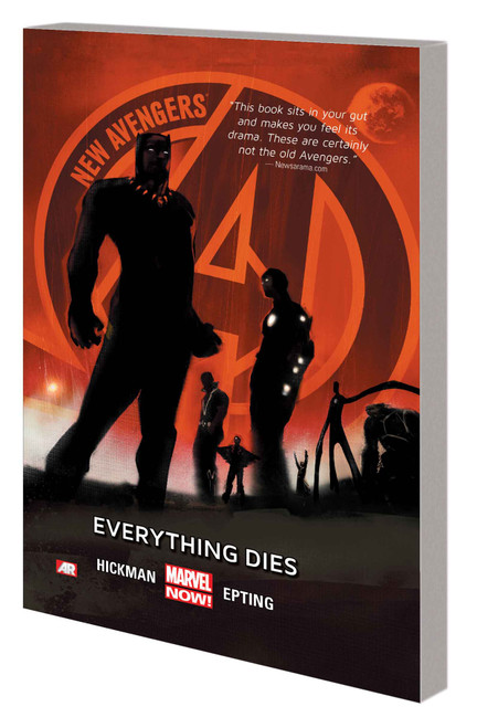 New Avengers Vol 1 Everything D