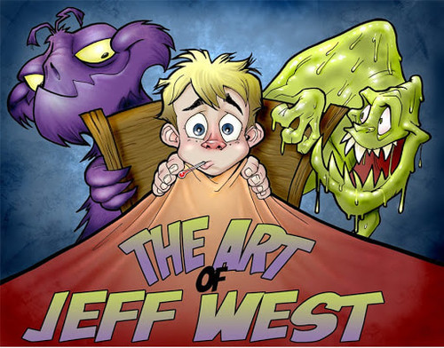 The Art of Jeff West Vol 1 TP