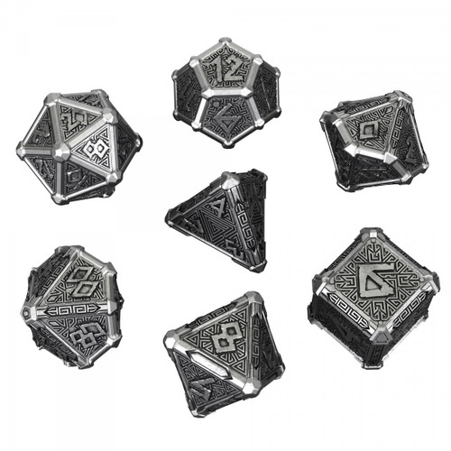 Mythical Metal Dice Set