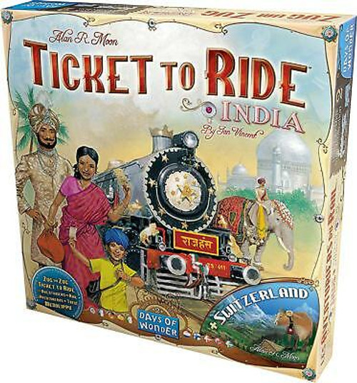 Ticket to Ride India Map #2