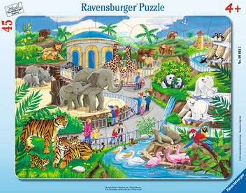 Visit to the Zoo 45pc Puzzle