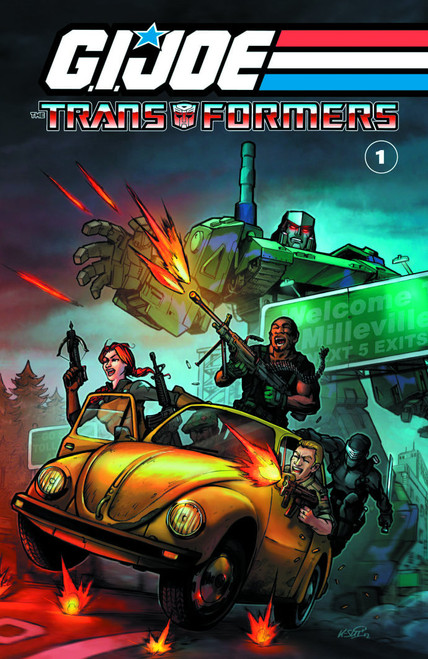 GI Joe Transformers Vol 1