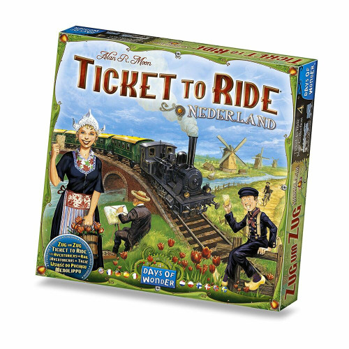 Ticket to Ride Netherland Map 4