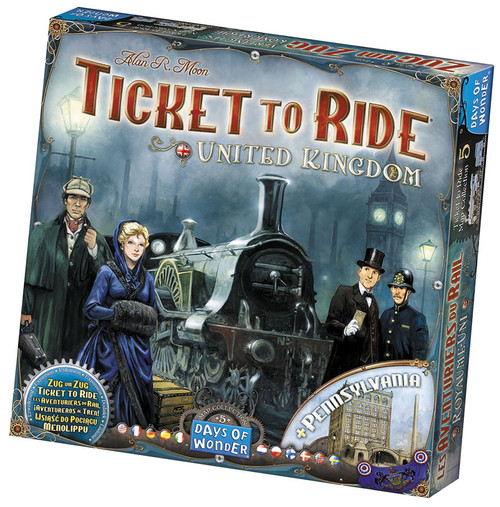 Ticket to Ride UK Map #5
