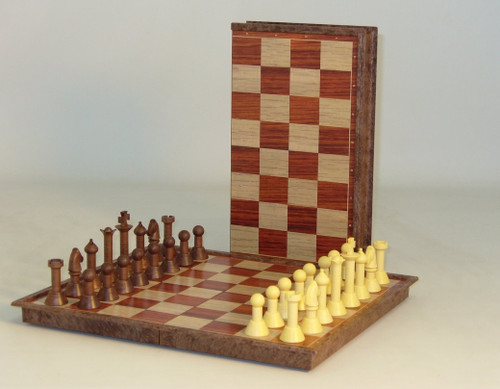 Folding Woody Magnetic Chess