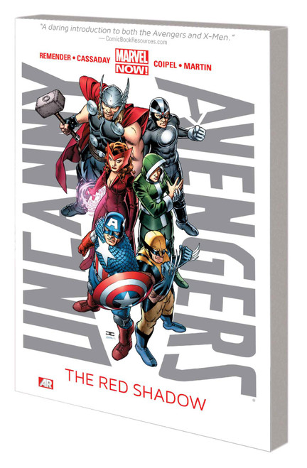 Uncanny Avengers V1 Red Shadow