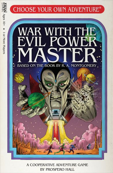 Choose Your Own Aadventure: War with the Evil Power Master