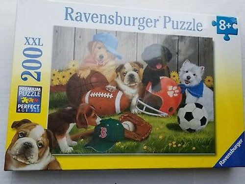 Let's Play Ball! 200pc Puzzle