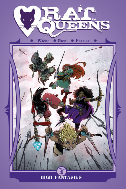 Rat Queens Vol 4 High Fantasies