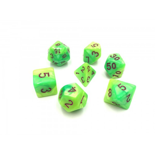 Blend Yellow/Green Dice