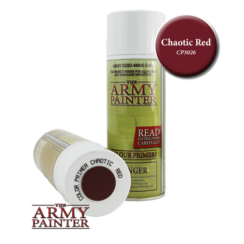 Chaotic Red Colour Primer
