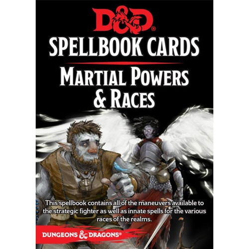 D&D Martial Races and Powers