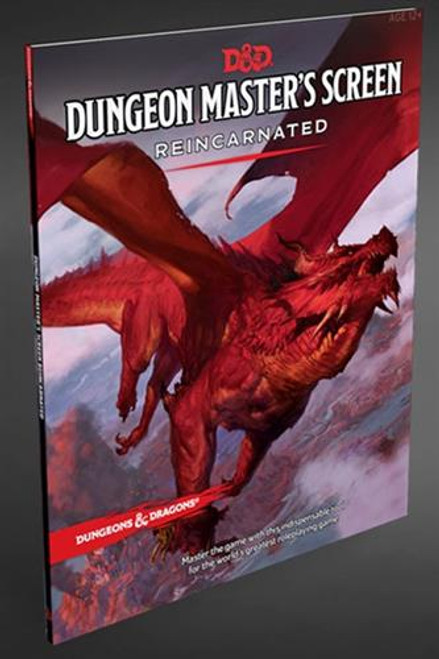 D&D DM Screen Reincarnated
