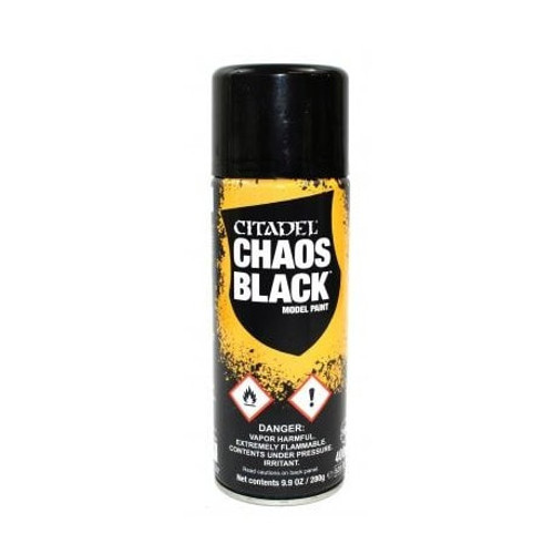 Spray: Chaos Black