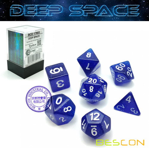 Deep Space Dice 7ct