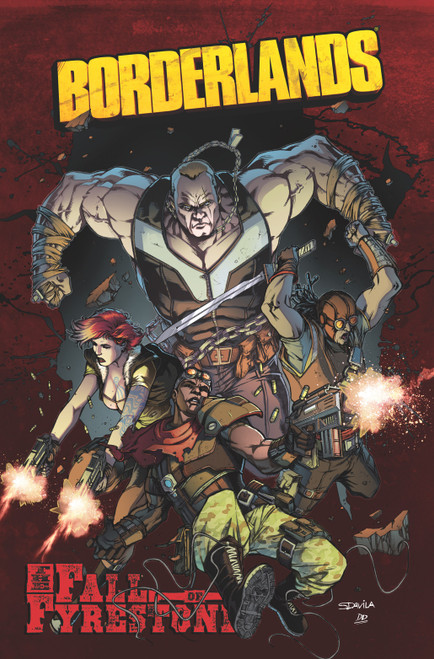 Borderlands Vol 2 Fall of Fyres