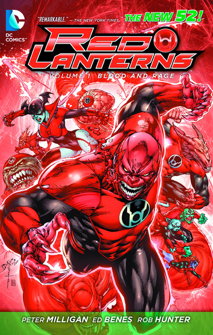 Red Lanterns TP Vol 1 Blood and