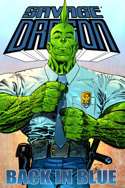 Savage Dragon: Back in Blue TP