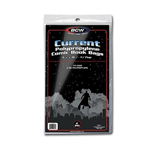 Comic Bags - Current (BCW)