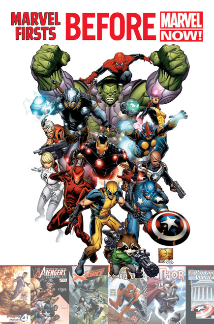Marvel Firsts: Before Marvel