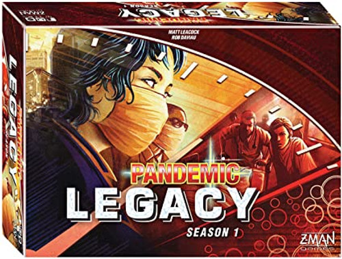 Pandemic Legacy - Red
