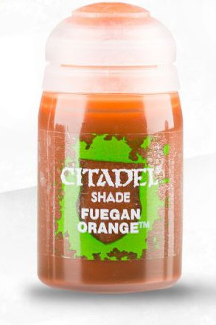 Shade: Fuegan Orange