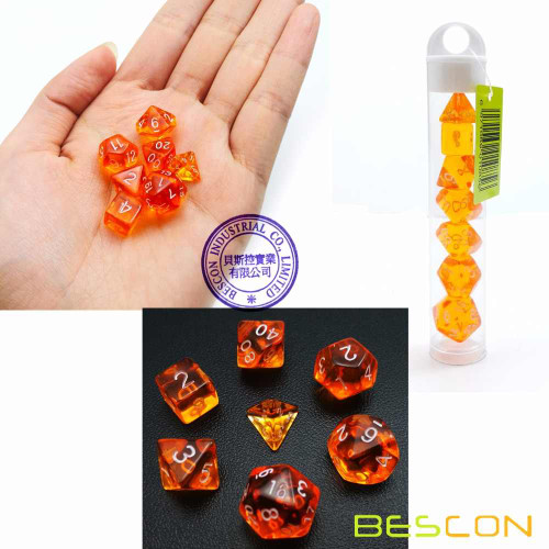 Translucent Mini Orange 7ct
