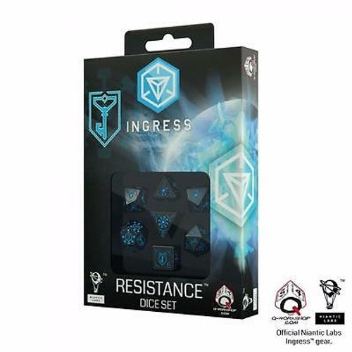 Ingress Dice Set - Resistance