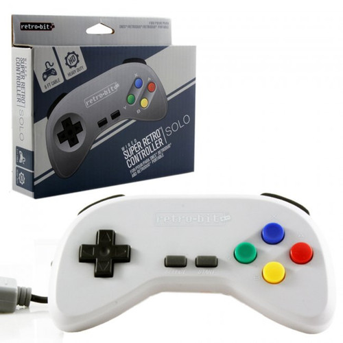 SNES Wired Controller Grey