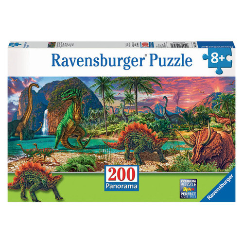 In the Land of Dinosaurs 200pc