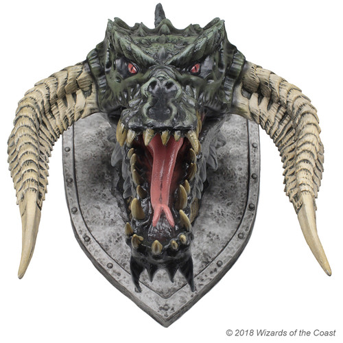 D&D Black Dragon Trophy Plaque