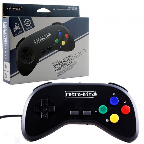 SNES Wired Controller Black