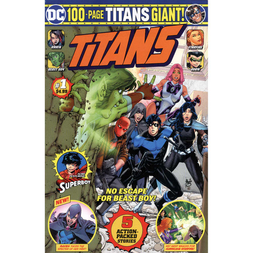 DC Titans Giants #1
