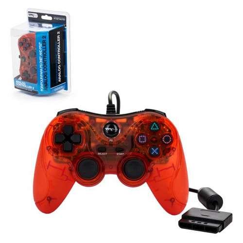 PS1/PS2 Wired Controller CRed