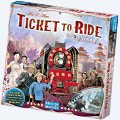 Ticket to Ride - Asia Map Collection