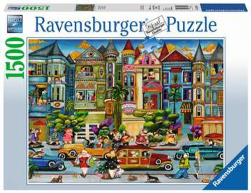 The Painted Ladies 1500 Piece