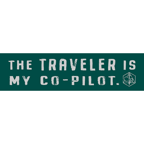 Traveler is my Co-Pilot Decal