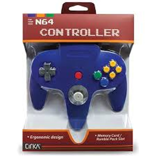 N64 Controller - Blue/Yellow