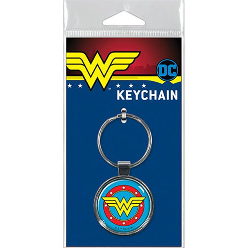 Wonder Woman Logo Keychain